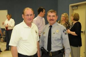 Major Eddie Holder, Sheriff Larry Rollins