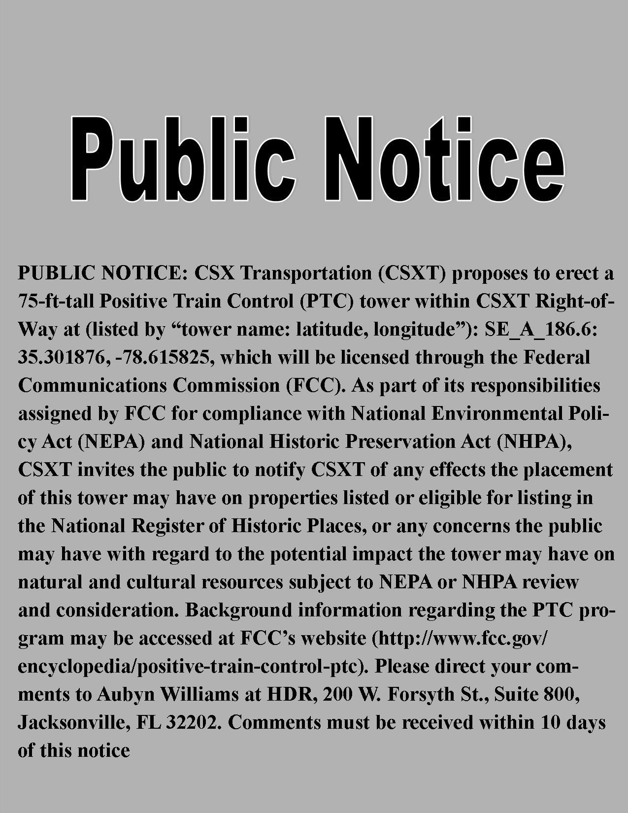 Publicnotice