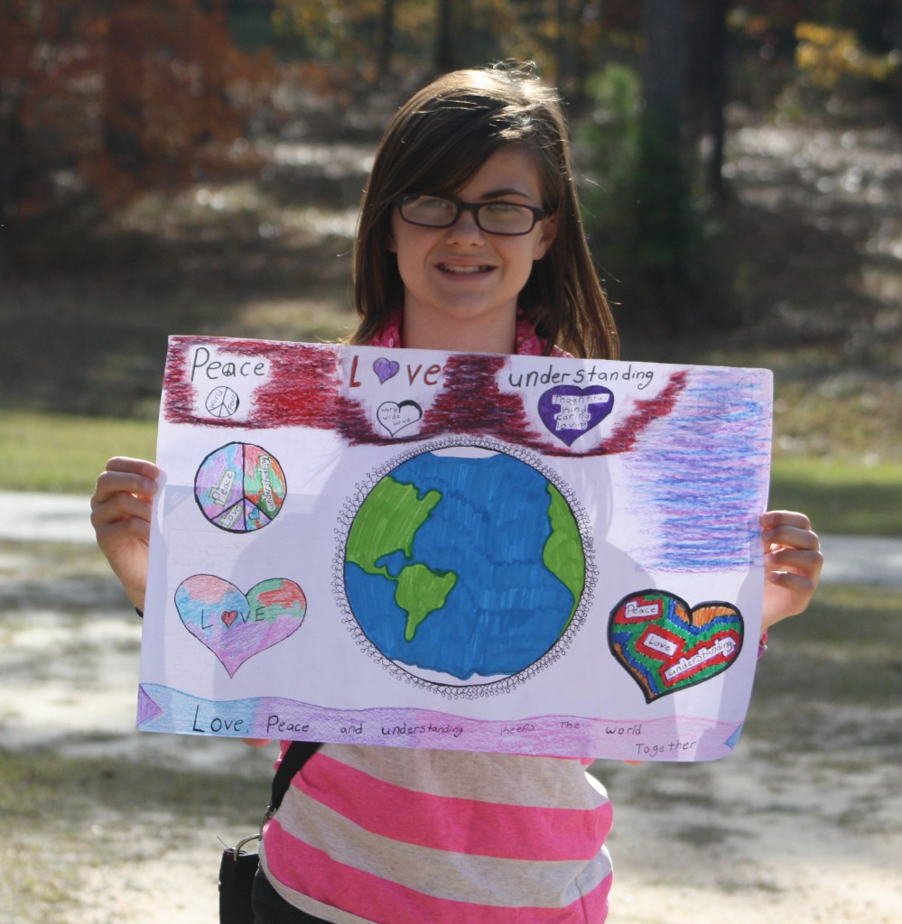Michaela Williams Peace poster (2)