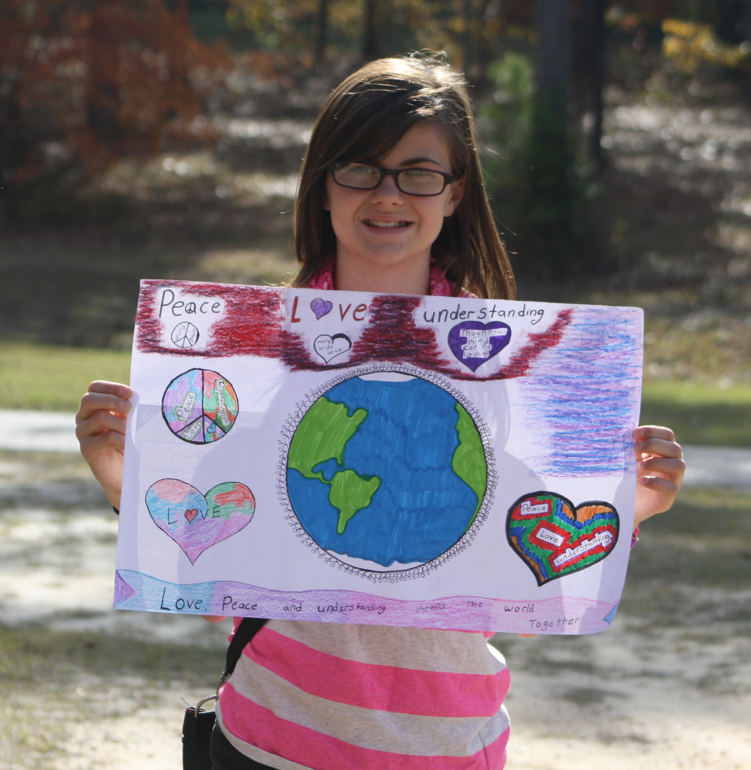 Michaela Williams Peace poster (2)